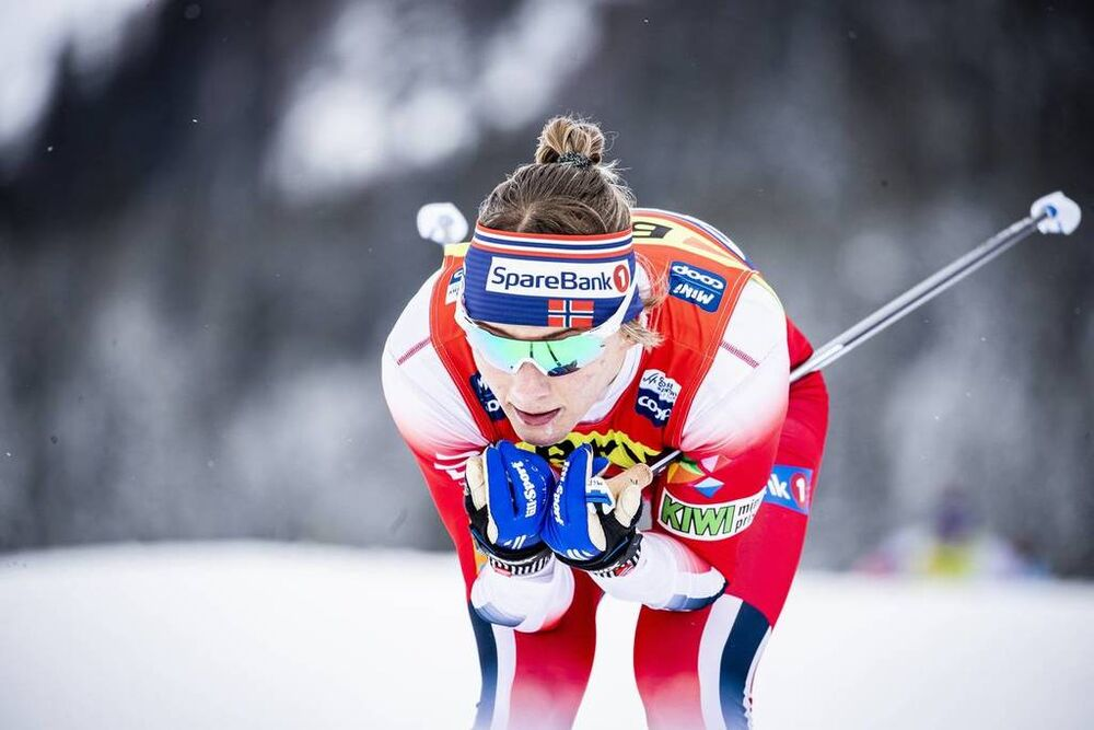 14.12.2019, Davos, Switzerland (SUI):Maiken Caspersen Falla (NOR) - FIS world cup cross-country, individual sprint, Davos (SUI). www.nordicfocus.com. © Modica/NordicFocus. Every downloaded picture is fee-liable.