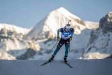 19.12.2019, Annecy-Le Grand Bornand, France (FRA):Fabien Claude (FRA) -  IBU world cup biathlon, sprint men, Annecy-Le Grand Bornand (FRA). www.nordicfocus.com. © Thibaut/NordicFocus. Every downloaded picture is fee-liable.