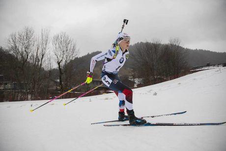 20.12.2019, Annecy-Le Grand Bornand, France (FRA):Marketa Davidova (CZE) -  IBU world cup biathlon, sprint women, Annecy-Le Grand Bornand (FRA). www.nordicfocus.com. © Manzoni/NordicFocus. Every downloaded picture is fee-liable.
