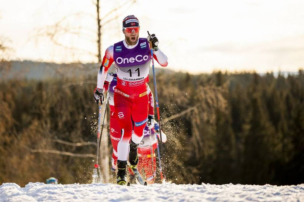 07.12.2019, Lillehammer, Norway (NOR):Martin Johnsrud Sundby (NOR) - FIS world cup cross-country, skiathlon men, Lillehammer (NOR). www.nordicfocus.com. © Modica/NordicFocus. Every downloaded picture is fee-liable.