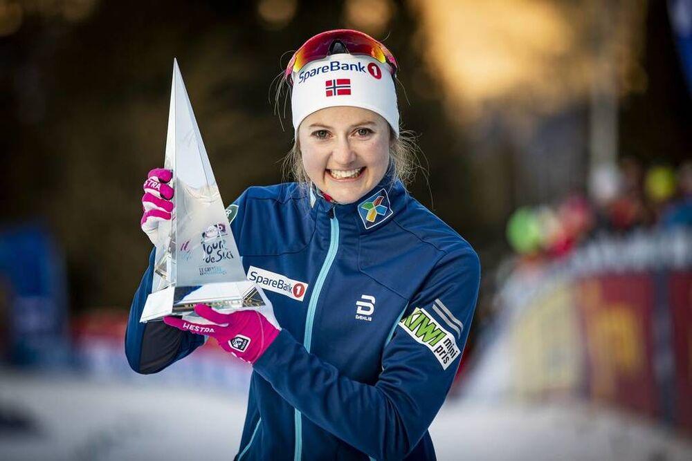 06.01.2019, Val di Fiemme, Italy (ITA):Ingvild Flugstad Oestberg (NOR) - FIS world cup cross-country, tour de ski, final climb women, Val di Fiemme (ITA). www.nordicfocus.com. © Modica/NordicFocus. Every downloaded picture is fee-liable.