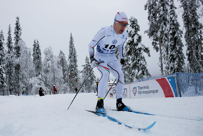 MARTIN BERGSTRÖM vann med halvminuten i Boden under söndagen. Foto/rights: PETTER ENGDAHL/kekstock.com