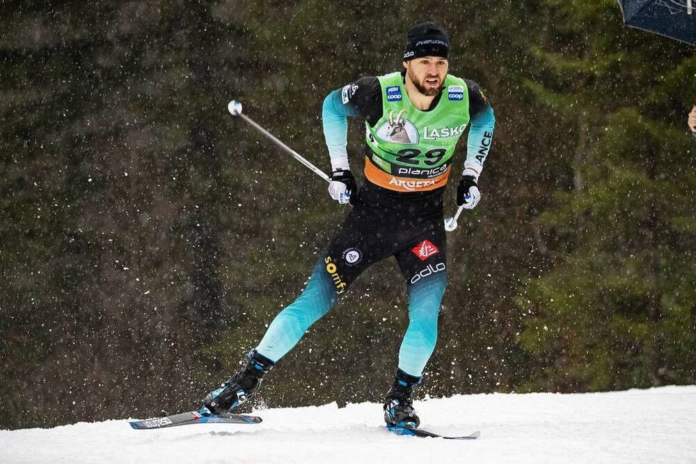21.12.2019, Planica, Slovenia (SLO):Baptiste Gros (FRA) - FIS world cup cross-country, individual sprint, Planica (SLO). www.nordicfocus.com. © Modica/NordicFocus. Every downloaded picture is fee-liable.