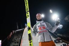 29.12.2019, Oberstdorf, Germany (GER):Karl Geiger (GER) - FIS world cup ski jumping, four hills tournament, individual HS137, Oberstdorf (GER). www.nordicfocus.com. © Tumashov/NordicFocus. Every downloaded picture is fee-liable.