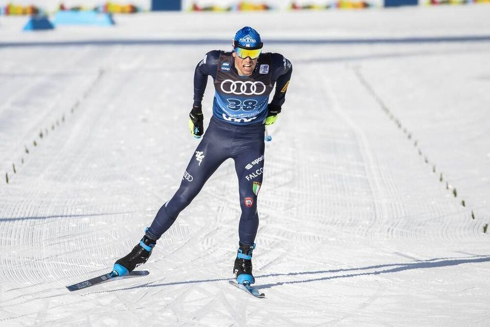 31.12.2019, Toblach, Italy (ITA):Francesco De Fabiani (ITA) - FIS world cup cross-country, tour de ski, 10km women, Toblach (ITA). www.nordicfocus.com. © Modica/NordicFocus. Every downloaded picture is fee-liable.