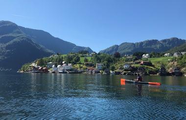 Padling i Sognefjorden
