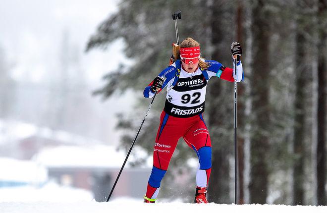 ANNIE LINDH vann Sverige-cupen i masstart i Lima. Foto: PER DANIELSSON