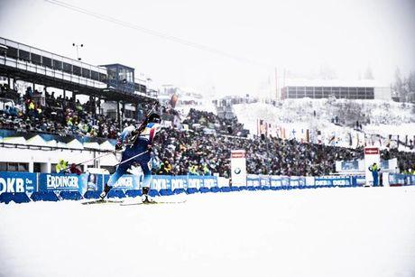 13.01.2019, Oberhof, Germany (GER):Lena Haecki (SUI) -  IBU world cup biathlon, relay women, Oberhof (GER). www.nordicfocus.com. © Manzoni/NordicFocus. Every downloaded picture is fee-liable.