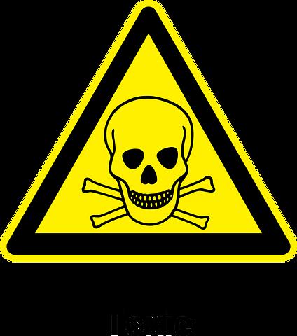 farlig avfall - skilt