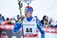 21.01.2018, Planica, Slovenia (SLO):Alexey Poltoranin (KAZ) - FIS world cup cross-country, 15km men, Planica (SLO). www.nordicfocus.com. © Modica/NordicFocus. Every downloaded picture is fee-liable.