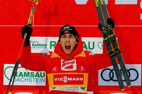 22.12.2019, Ramsau, Austria (AUT):Jarl Magnus Riiber (NOR) - FIS world cup nordic combined, individual gundersen HS98/10km, Ramsau (AUT). www.nordicfocus.com. © Volk/NordicFocus. Every downloaded picture is fee-liable.
