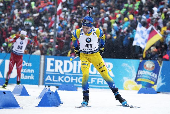 JESPER NELIN var bäste svensk på sprinten i Oberhof med en 17:e plats. Foto: NORDIC FOCUS