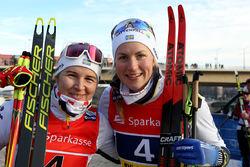 PALLPLATS också för det svenska andralaget med Evelina Settlin och Linn Sömskar. Foto/rights: KJELL-ERIK KRISTIANSEN/kekstock.com