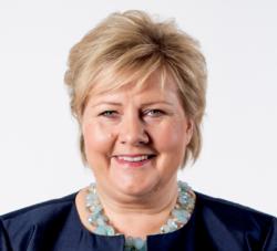 Statsminister Erna Solberg. Foto: Thomas Haugersveen/Statsministerens kontor
