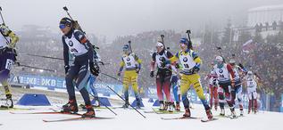 12.01.2020, Oberhof, Germany (GER):Lisa Vittozzi (ITA) -  IBU world cup biathlon, mass women, Oberhof (GER). www.nordicfocus.com. © Manzoni/NordicFocus. Every downloaded picture is fee-liable.