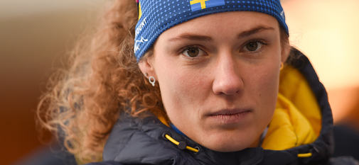 15.01.2020, Ruhpolding, Germany (GER):Hanna Oeberg (SWE) -  IBU world cup biathlon, sprint women, Ruhpolding (GER). www.nordicfocus.com. © Tumashov/NordicFocus. Every downloaded picture is fee-liable.