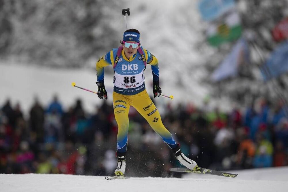 13.12.2019, Hochfilzen, Austria (AUT):Elisabeth Hoegberg (SWE) - IBU world cup biathlon, sprint women, Hochfilzen (AUT). www.nordicfocus.com. © Manzoni/NordicFocus. Every downloaded picture is fee-liable.