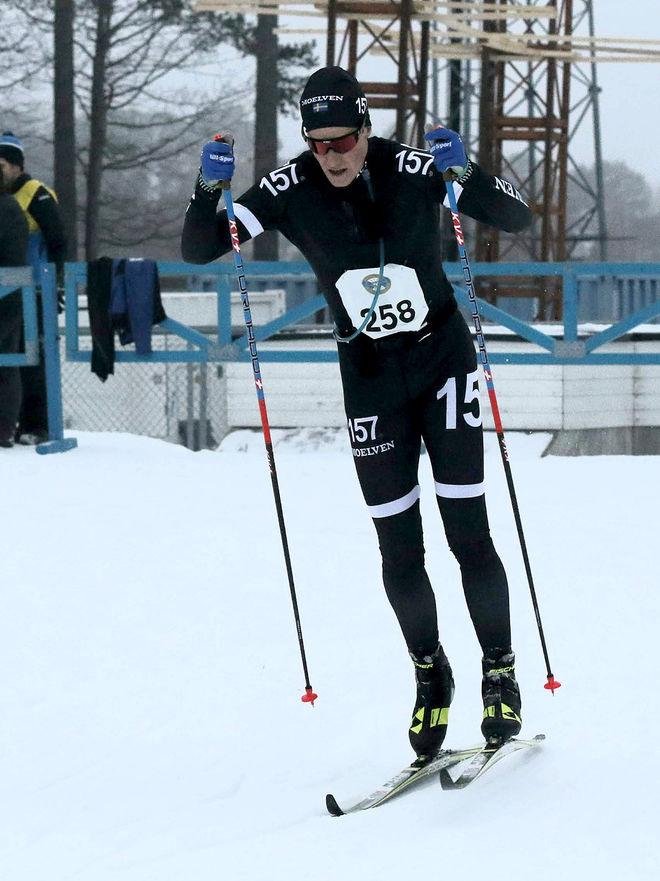 ANDREAS HOLMBERG, Lager 157 vann Östersund Ski Marathon. Foto: MIKAEL HEDSTRÖM