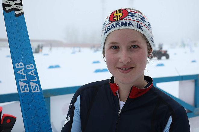 FRIDA HALLQUIST, Åsarna vann damklassen. Foto: MIKAEL HEDSTRÖM