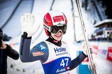 27.02.2019, Seefeld, Austria (AUT):Eva Pinkelnig (AUT) - FIS nordic world ski championships, ski jumping ladies, individual HS109, Seefeld (AUT). www.nordicfocus.com. © Modica/NordicFocus. Every downloaded picture is fee-liable.