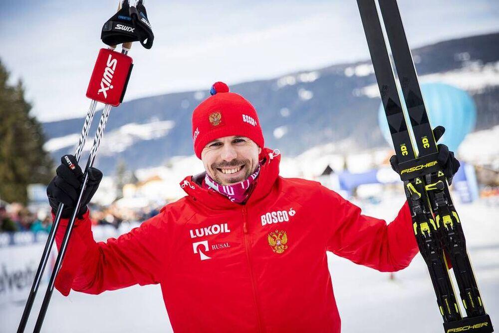 31.12.2019, Toblach, Italy (ITA):Sergey Ustiugov (RUS) - FIS world cup cross-country, tour de ski, 15km men, Toblach (ITA). www.nordicfocus.com. © Modica/NordicFocus. Every downloaded picture is fee-liable.