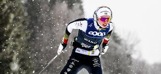 18.01.2020, Nove Mesto, Czech Republic (CZE):Emma Ribom (SWE) - FIS world cup cross-country, 15km men, Nove Mesto (CZE). www.nordicfocus.com. © Modica/NordicFocus. Every downloaded picture is fee-liable.