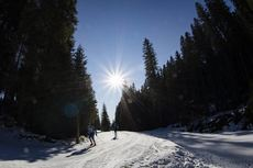 21.01.2020, Pokljuka, Slovenia (SLO):Feature: Track atmosphere  -  IBU world cup biathlon, training, Pokljuka (SLO). www.nordicfocus.com. © Manzoni/NordicFocus. Every downloaded picture is fee-liable.