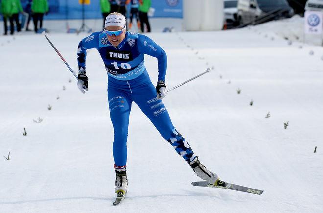 JACKLINE LOCKNER vann den tredje deltävlingen i nya World Sprint Series. Foto/rights: TOM-WILLIAM LINDSTRÖM/kekstock.com