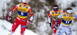 25.01.2020, Oberstdorf, Germany (GER):Ebba Andersson (SWE) - FIS world cup cross-country, skiathlon women, Oberstdorf (GER). www.nordicfocus.com. © Thibaut/NordicFocus. Every downloaded picture is fee-liable.