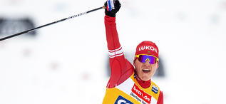 25.01.2020, Oberstdorf, Germany (GER):Alexander Bolshunov (RUS) - FIS world cup cross-country, skiathlon men, Oberstdorf (GER). www.nordicfocus.com. © Thibaut/NordicFocus. Every downloaded picture is fee-liable.