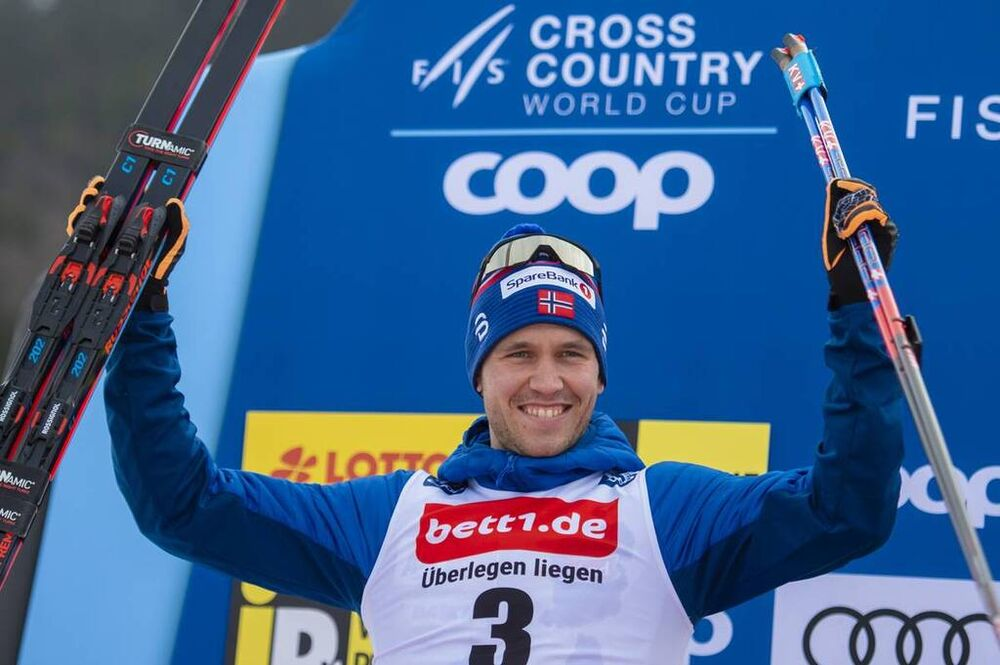26.01.2020, Oberstdorf, Germany (GER):Paal Golberg (NOR) - FIS world cup cross-country, individual sprint, Oberstdorf (GER). www.nordicfocus.com. © Thibaut/NordicFocus. Every downloaded picture is fee-liable.