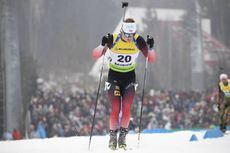 24.02.2019, Minsk-Raubichi, Belarus (BLR):Endre Stroemsheim (NOR) - IBU Open European championships biathlon, pursuit men, Minsk-Raubichi (BLR). www.nordicfocus.com. © Manzoni/NordicFocus. Every downloaded picture is fee-liable.