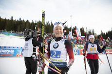 25.01.2020, Pokljuka, Slovenia (SLO):Ingrid Landmark Tandrevold (NOR) -  IBU world cup biathlon, relay mixed, Pokljuka (SLO). www.nordicfocus.com. © Manzoni/NordicFocus. Every downloaded picture is fee-liable.