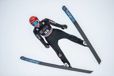 11.01.2020, Val di Fiemme, Italy (ITA):Stephan Leyhe (GER) - FIS world cup ski jumping, individual HS135, Val di Fiemme (ITA). www.nordicfocus.com. © Modica/NordicFocus. Every downloaded picture is fee-liable.