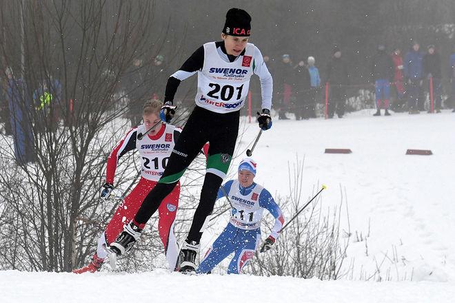 BOSSE LÖVGREN, Falu IK vann båda dagarna i H16-klassen på USM i Matfors. Foto/rights: ROLF ZETTERBERG/kekstock.com