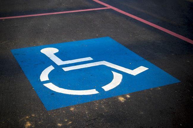 handikap parkering