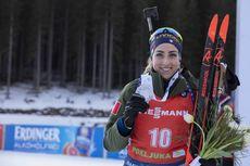 26.01.2020, Pokljuka, Slovenia (SLO):Lisa Vittozzi (ITA) -  IBU world cup biathlon, mass women, Pokljuka (SLO). www.nordicfocus.com. © Manzoni/NordicFocus. Every downloaded picture is fee-liable.