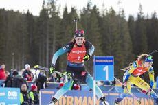 26.01.2020, Pokljuka, Slovenia (SLO):Justine Braisaz (FRA) -  IBU world cup biathlon, mass women, Pokljuka (SLO). www.nordicfocus.com. © Manzoni/NordicFocus. Every downloaded picture is fee-liable.
