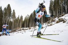 25.01.2020, Pokljuka, Slovenia (SLO):Quentin Fillon Maillet (FRA) -  IBU world cup biathlon, relay mixed, Pokljuka (SLO). www.nordicfocus.com. © Manzoni/NordicFocus. Every downloaded picture is fee-liable.