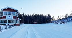 LINDBÄCKSSTADION i Piteå ligger klar och väntar på veteranerna i årets Masters SM i mars.