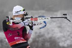 12.01.2020, Oberhof, Germany (GER):Tiril Eckhoff (NOR) -  IBU world cup biathlon, mass women, Oberhof (GER). www.nordicfocus.com. © Manzoni/NordicFocus. Every downloaded picture is fee-liable.