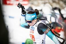 13.02.2020, Antholz, Italy (ITA):Julia Simon (FRA) - IBU World Championships Biathlon, relay mixed, Antholz (ITA). www.nordicfocus.com. © Modica/NordicFocus. Every downloaded picture is fee-liable.