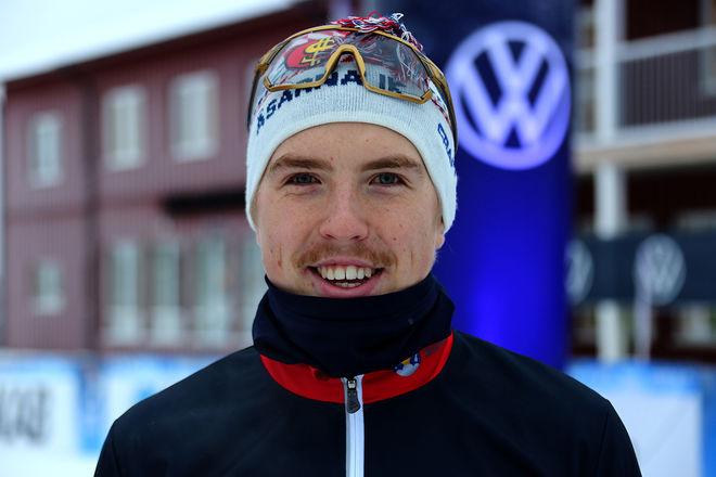 WILLIAM POROMAA, Åsarna vinner på alla distanser i H19-20, också i sprint. Foto/rights: KJELL-ERIK KRISTIANSEN/kekstock.com