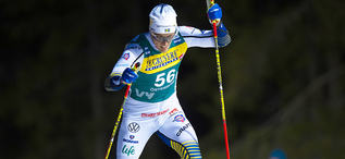 15.02.2020, Oestersund, Sweden (SWE):Calle Halfvarsson (SWE) - FIS world cup cross-country, 15km men, Oestersund (SWE). www.nordicfocus.com. © Vianney THIBAUT/NordicFocus. Every downloaded picture is fee-liable.