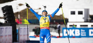 16.02.2020, Antholz, Italy (ITA):Dorothea Wierer (ITA) - IBU World Championships Biathlon, pursuit women, Antholz (ITA). www.nordicfocus.com. © Manzoni/NordicFocus. Every downloaded picture is fee-liable.