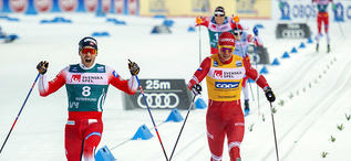 16.02.2020, Oestersund, Sweden (SWE):Paal Golberg (NOR) - FIS world cup cross-country, pursuit women, Oestersund (SWE). www.nordicfocus.com. ©THIBAUT/NordicFocus. Every downloaded picture is fee-liable.