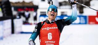 16.02.2020, Antholz, Italy (ITA):Emilien Jacquelin (FRA) - IBU World Championships Biathlon, pursuit men, Antholz (ITA). www.nordicfocus.com. © Modica/NordicFocus. Every downloaded picture is fee-liable.