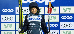 16.02.2020, Oestersund, Sweden (SWE):Frida Karlsson (SWE) - FIS world cup cross-country, pursuit women, Oestersund (SWE). www.nordicfocus.com. ©THIBAUT/NordicFocus. Every downloaded picture is fee-liable.