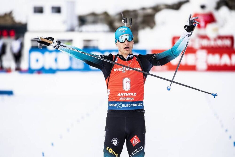 16.02.2020, Antholz, Italy (ITA):Emilien Jacquelin (FRA) - IBU World Championships Biathlon, pursuit men, Antholz (ITA). www.nordicfocus.com. © Modica/NordicFocus. Every downloaded picture is fee-liable.