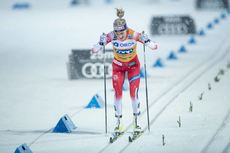 16.02.2020, Oestersund, Sweden (SWE):Therese Johaug (NOR) - FIS world cup cross-country, pursuit women, Oestersund (SWE). www.nordicfocus.com. ©THIBAUT/NordicFocus. Every downloaded picture is fee-liable.